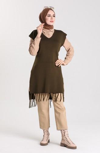 Khaki Sweater 4354-06