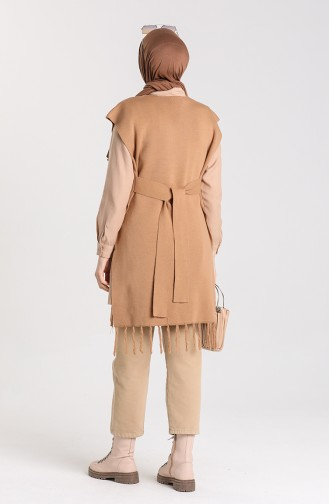 Knitwear Tassel Sweater 4354-11 Milk Coffee 4354-11