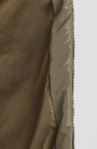 Gilet Sans Manches Khaki 1068-05
