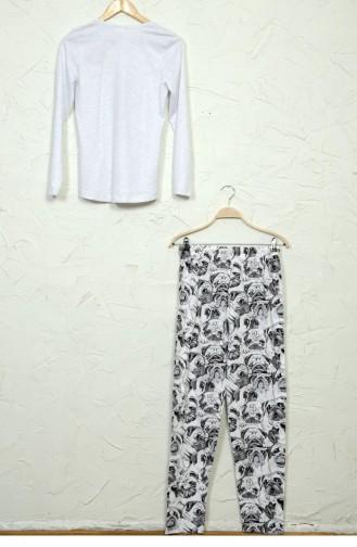 Gray Pajamas 50830161.GRIMELANJ
