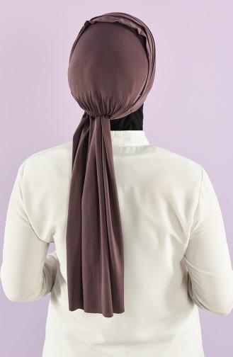 Bonnet Couleur Brun 20-07