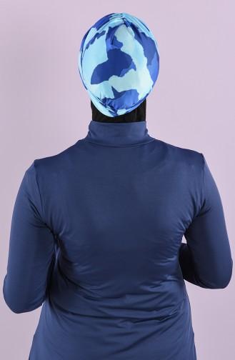 Bonnet de Bain Blue roi 8006-15-02