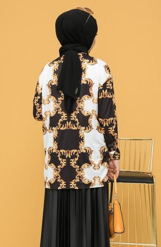 قميص أسود 4373C-01