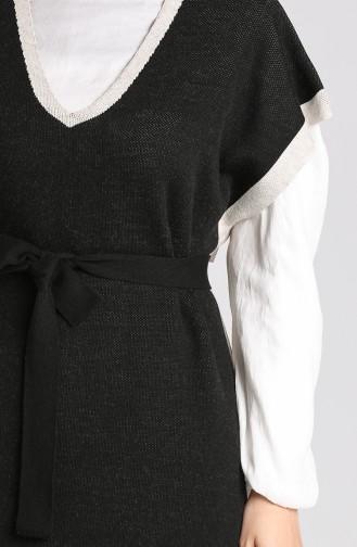 Knitwear Long Sweater 4364-01 Black 4364-01