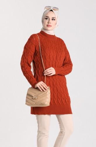 Knitwear Knit Patterned Sweater 4270-03 Tile 4270-03