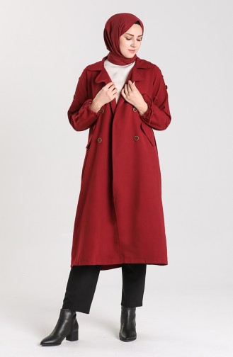 Weinrot Trench Coats Models 5184-04