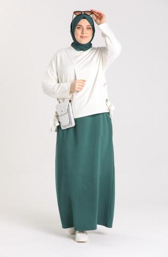 Emerald Green Skirt 0152-12