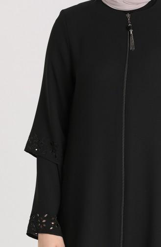 Abayas Noir 1577-04