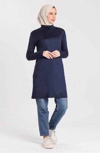 Body Islamique 0755-08 Bleu Marine 0755-08