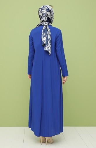فستان أزرق 10111-12