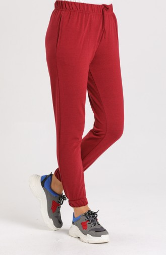 Claret red Sweatpants 6100-03