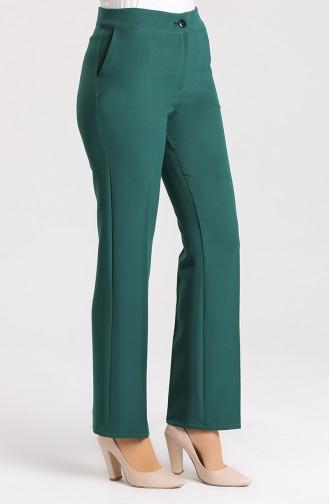 Smaragdgrün Hose 2062-16