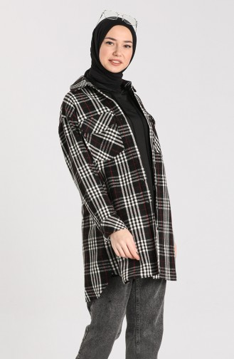 Black Overhemdblouse 2425-02