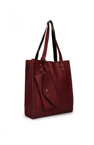 Claret Red Shoulder Bags 210Z-02