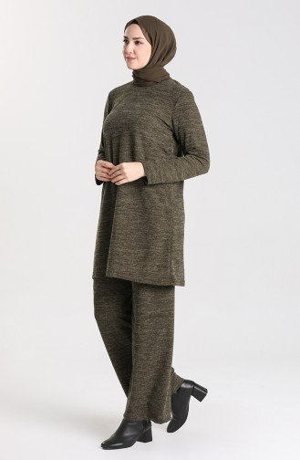 Khaki Anzüge 3302-04