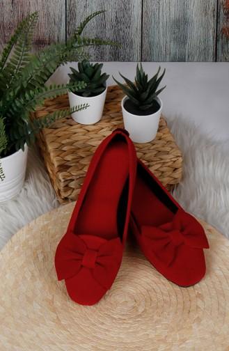 الأحذية منزل أحمر 0176-12