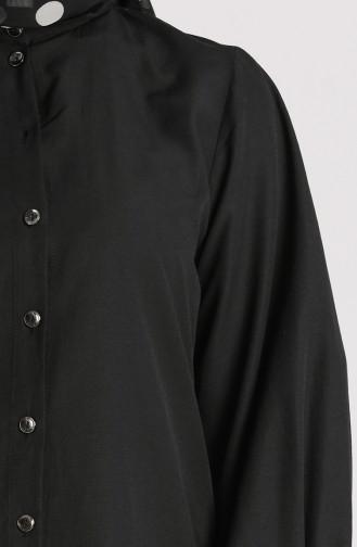 Schwarz Hemd 3237-01