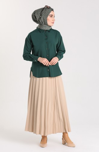 Emerald Overhemdblouse 3238-02