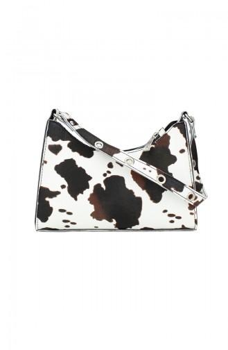 Housebags Baguette Çanta 0195-02 Kahverengi