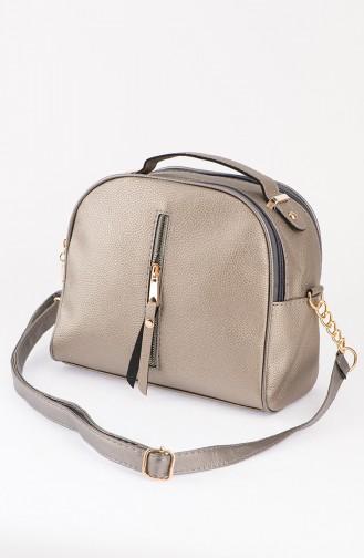 Gray Shoulder Bag 43-04