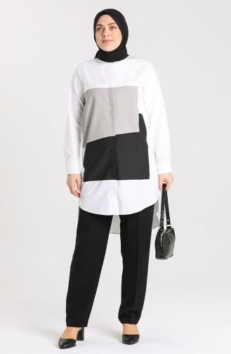 Pantalon Noir 0101-01