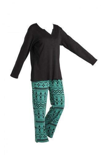 Black Pyjama 3003-02