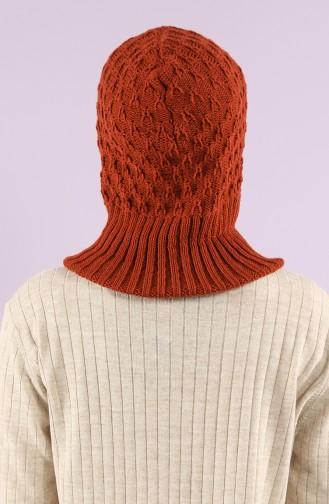 Ziegelrot Kopftuch 4291-08