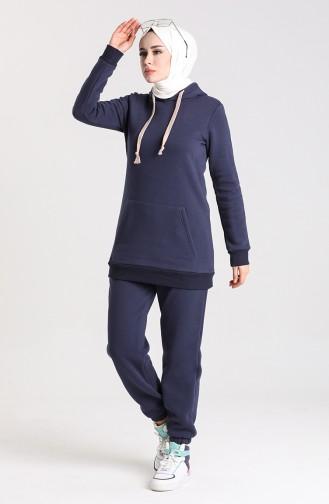 Navy Blue Tracksuit 0250-01
