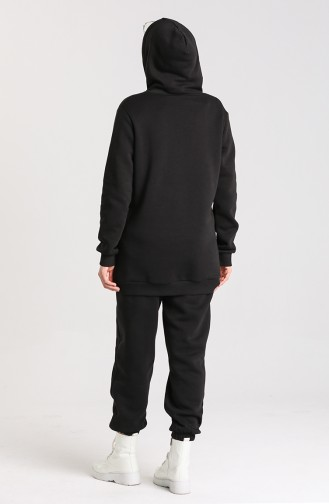 Black Tracksuit 0250-04