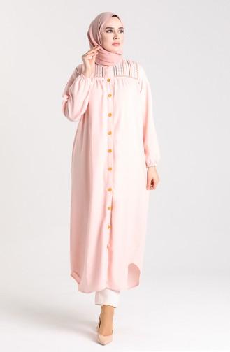 Robe Hijab Poudre 21K8186B-02