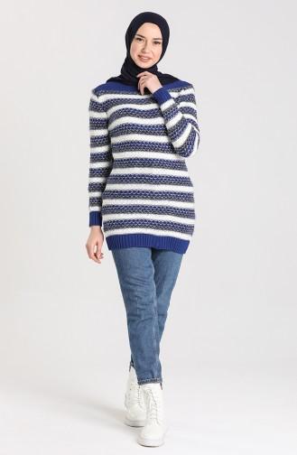 Knitwear Garnish Soft Sweater 1087-03 Saxe Blue 1087-03
