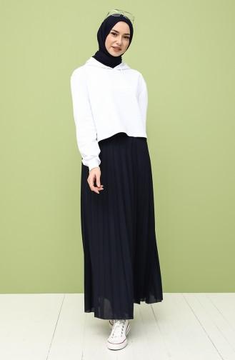 Sweatshirt Blanc 29665-01