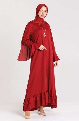 Habillé Hijab Bordeaux 5082-01