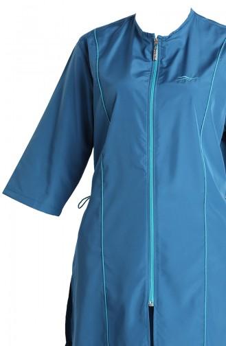 ملابس السباحة أزرق زيتي 2012-06