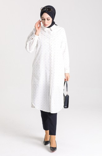 White Tunics 21Y8207-01