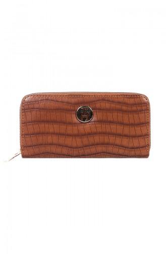 TH Bags Bayan Cüzdan THKRC9014-05 Taba