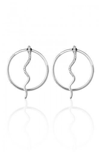 Silver Gray Earrings 2008