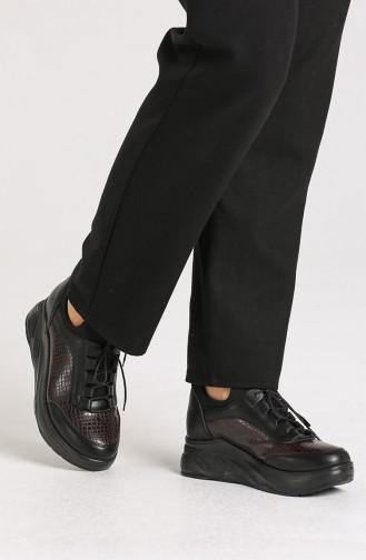 Chaussures Baskets Noir 1824-03