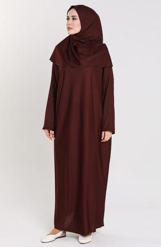 Prayer Dress 4537-06 Burgundy 4537-06