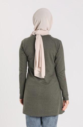 Tunique Vert khaki clair 3048-19