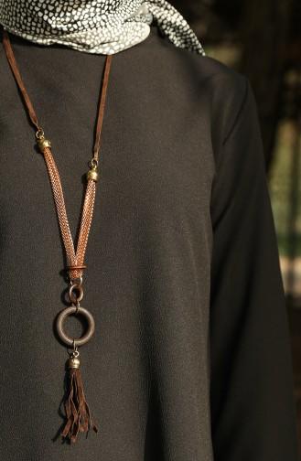 Basic Necklace Tunic 4013-08 Black 4013-08