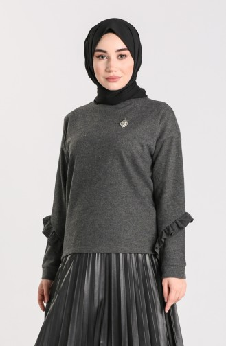 Anthracite Blouse 20624-02