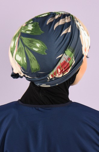 Anthrazit Schwimmmütze Bonnet 8006-11-02