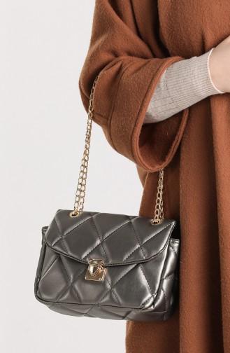 Gray Shoulder Bags 10114-07