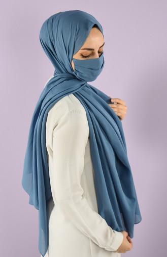 Châle Bleu Jean 15248-12