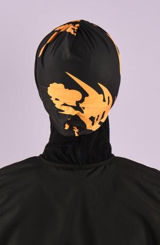 Black Swimming Cap 8006-5-02
