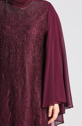 Habillé Hijab Plum 9361-06