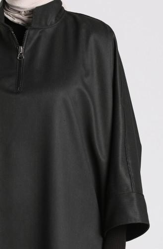 Black Poncho 9036-01