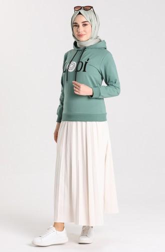 قميص رياضي أخضر 0952-05