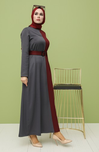Robe Hijab Gris 8298-02